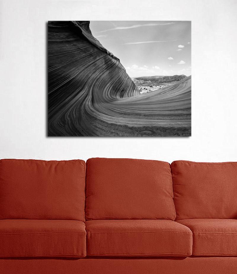 The Wave II, Arizona, Black and White Photography Lost Kat Photography