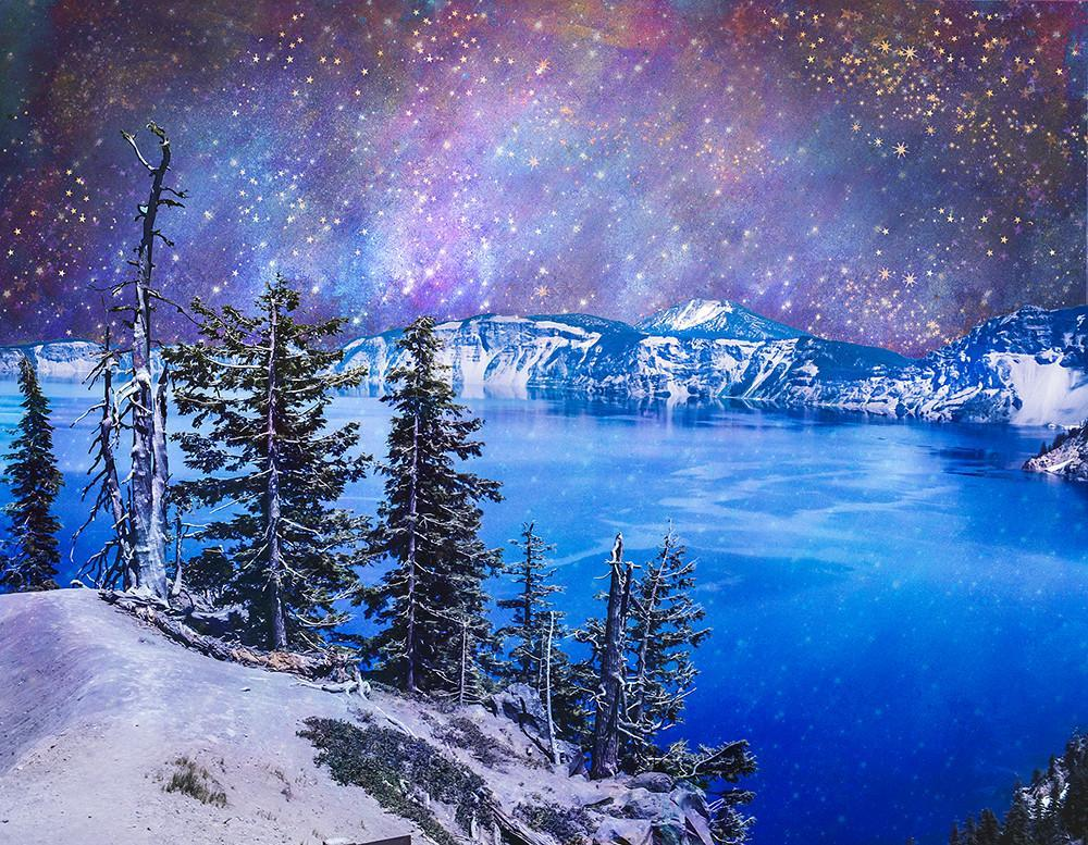 Top of the World, Crater Lake, Oregon Fine Art Print Lost Kat Photography