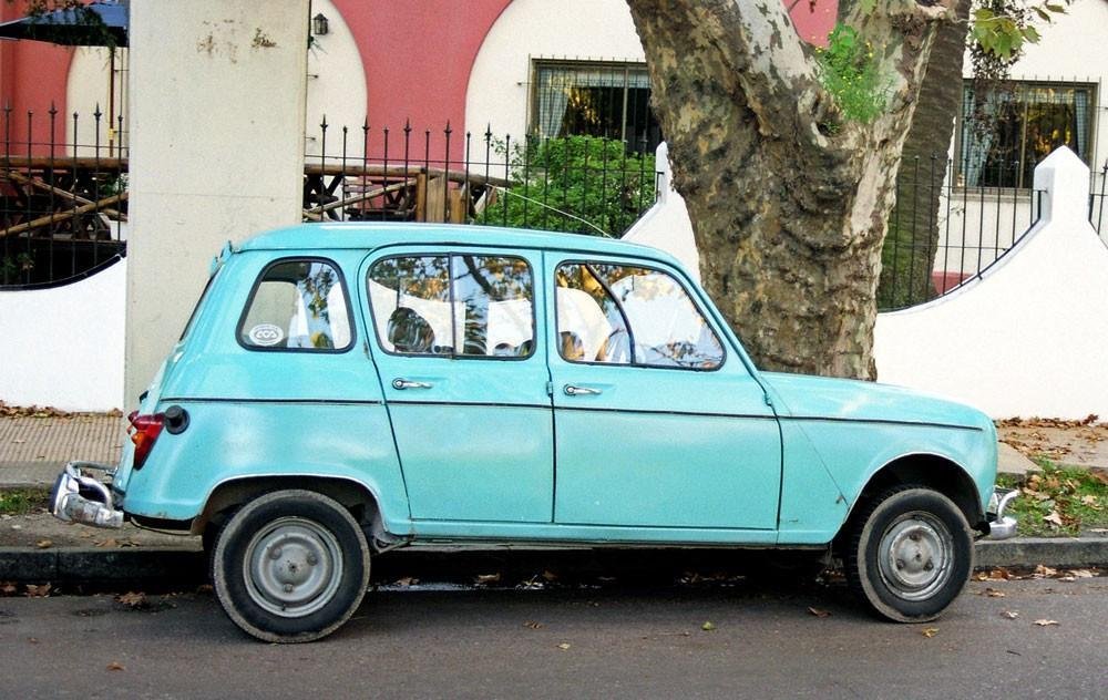 Turquoise Renault, Argentina Lost Kat Photography