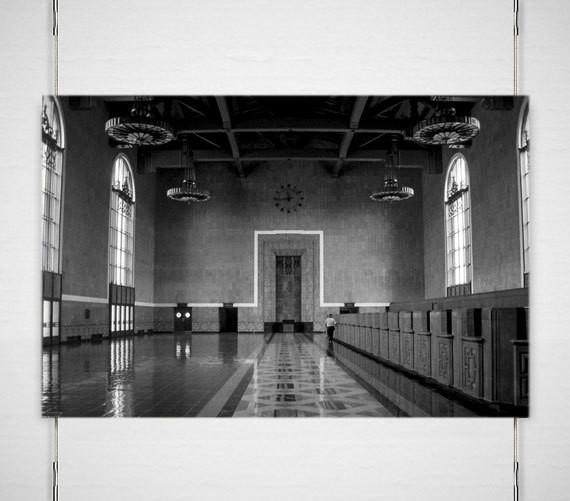 Union Station, Los Angeles, California - Fine Art Print Lost Kat Photography