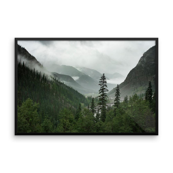Valley of Forever - Framed Photo Print 24×36 Lost Kat Photography
