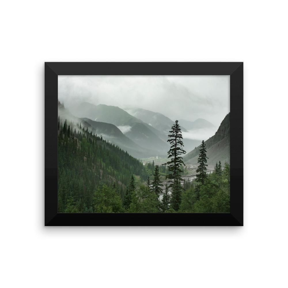 Valley of Forever - Framed Photo Print 8×10 Lost Kat Photography