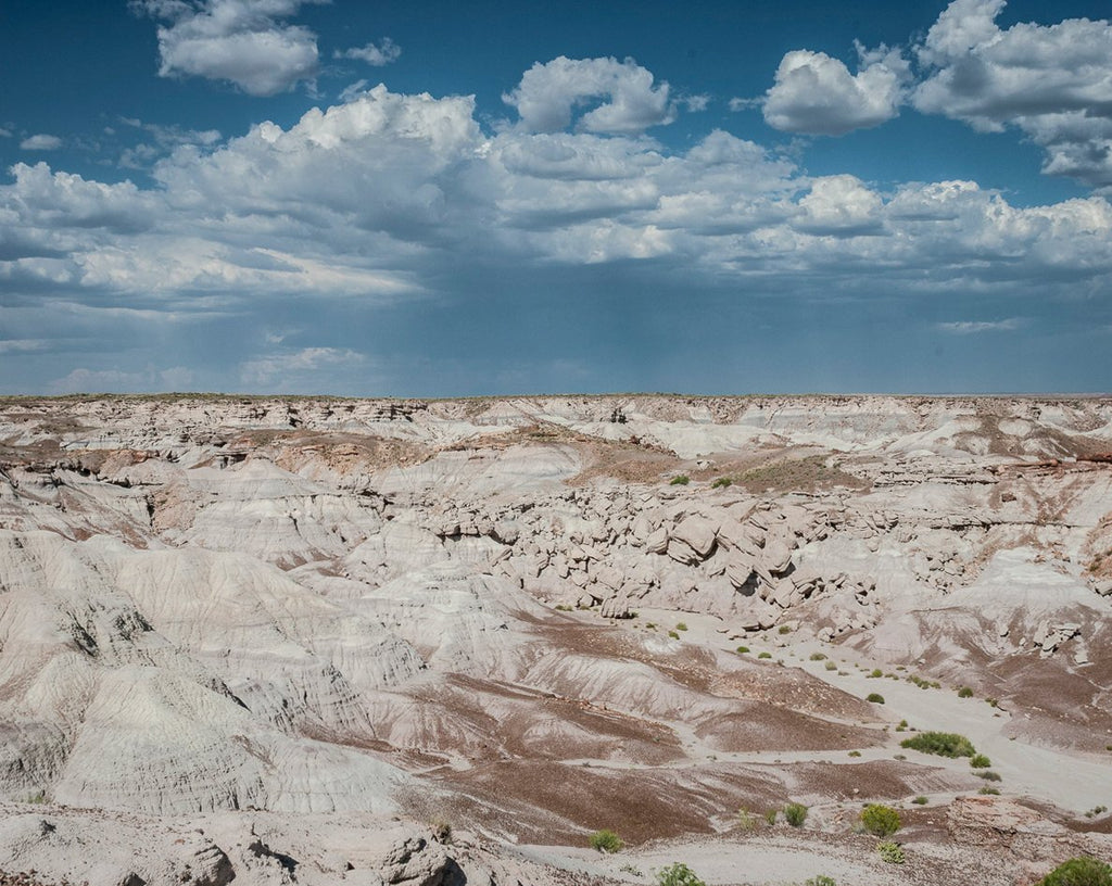 Wasteland and Sky, Petrified Forest, Arizona Photography Lost Kat Photography