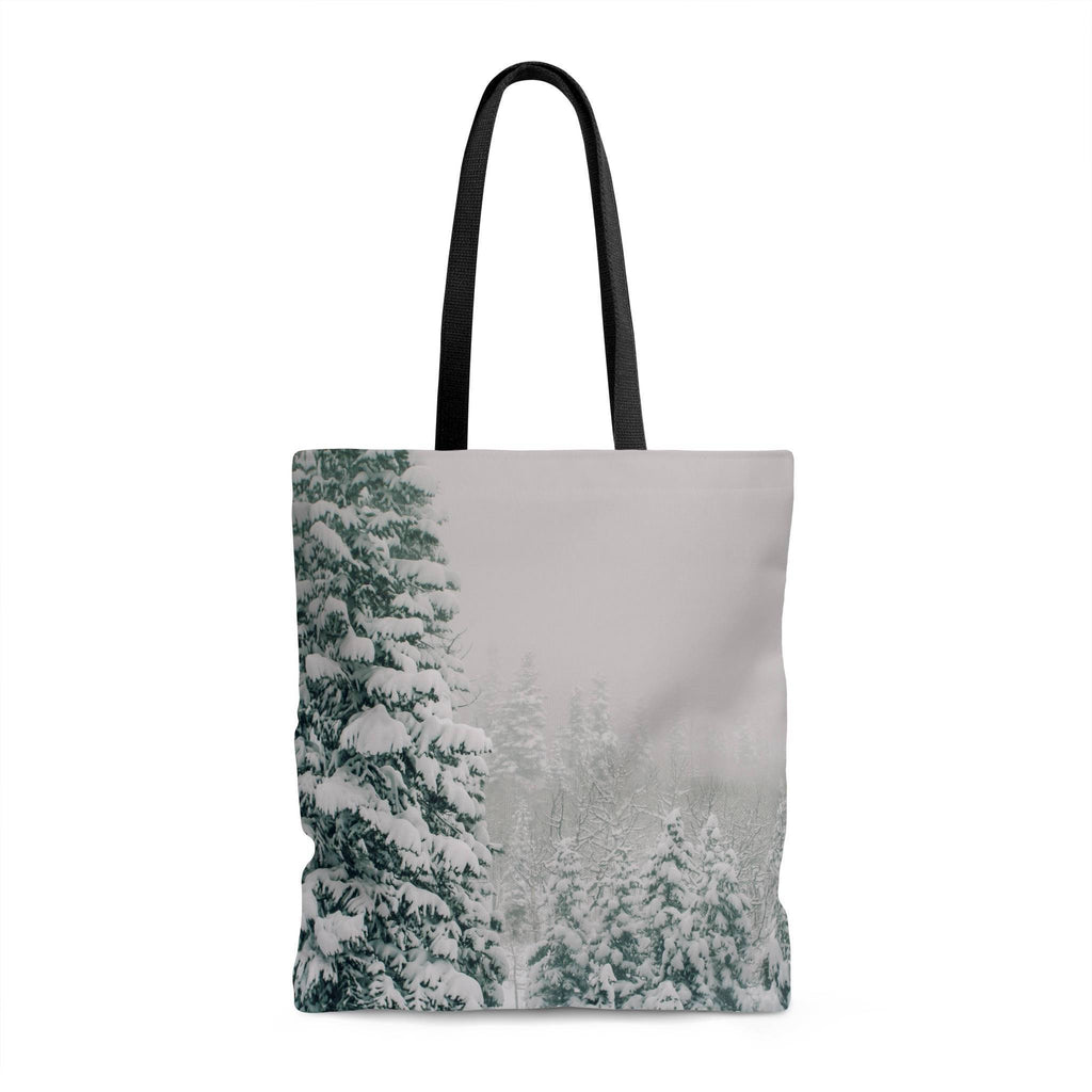 Winder Wonderland Shopping Tote with Liner Lost in Nature