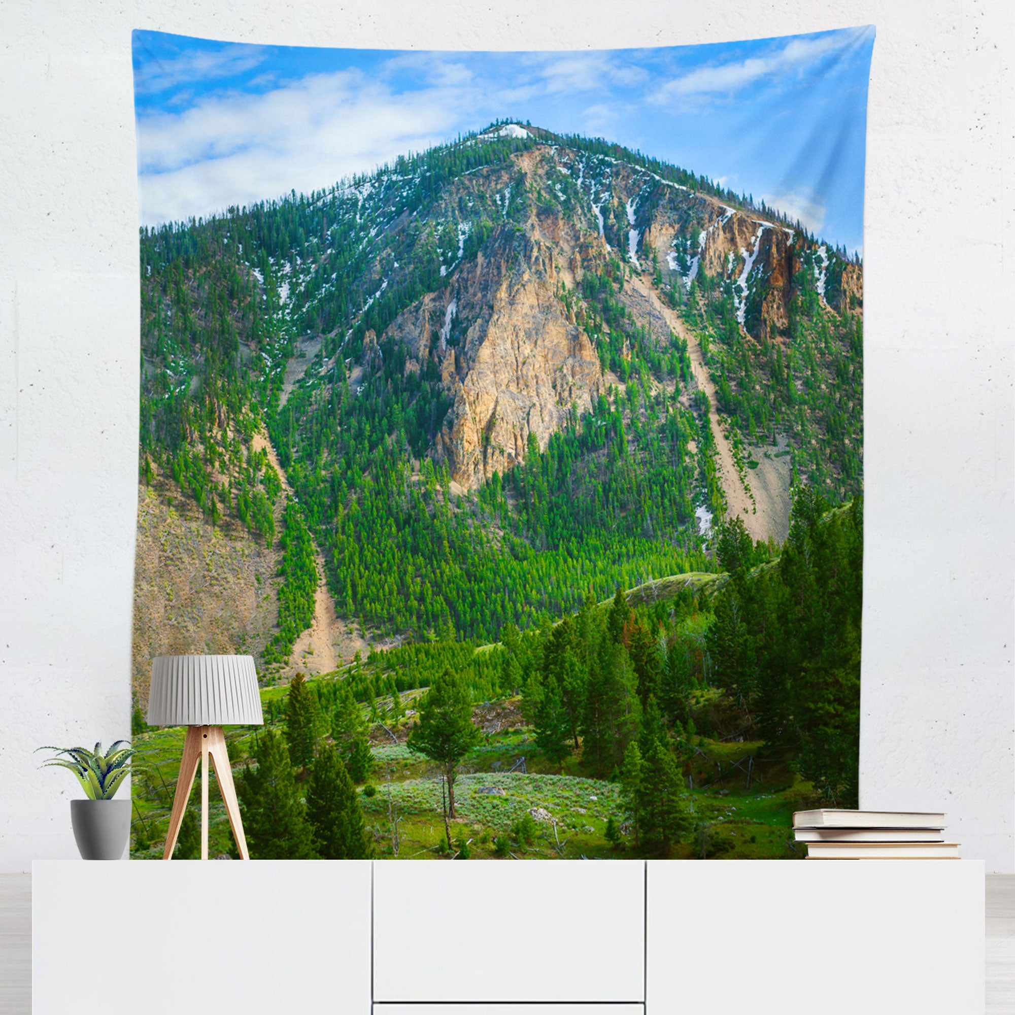 Such Great Heights, Mountain Wall Hanging