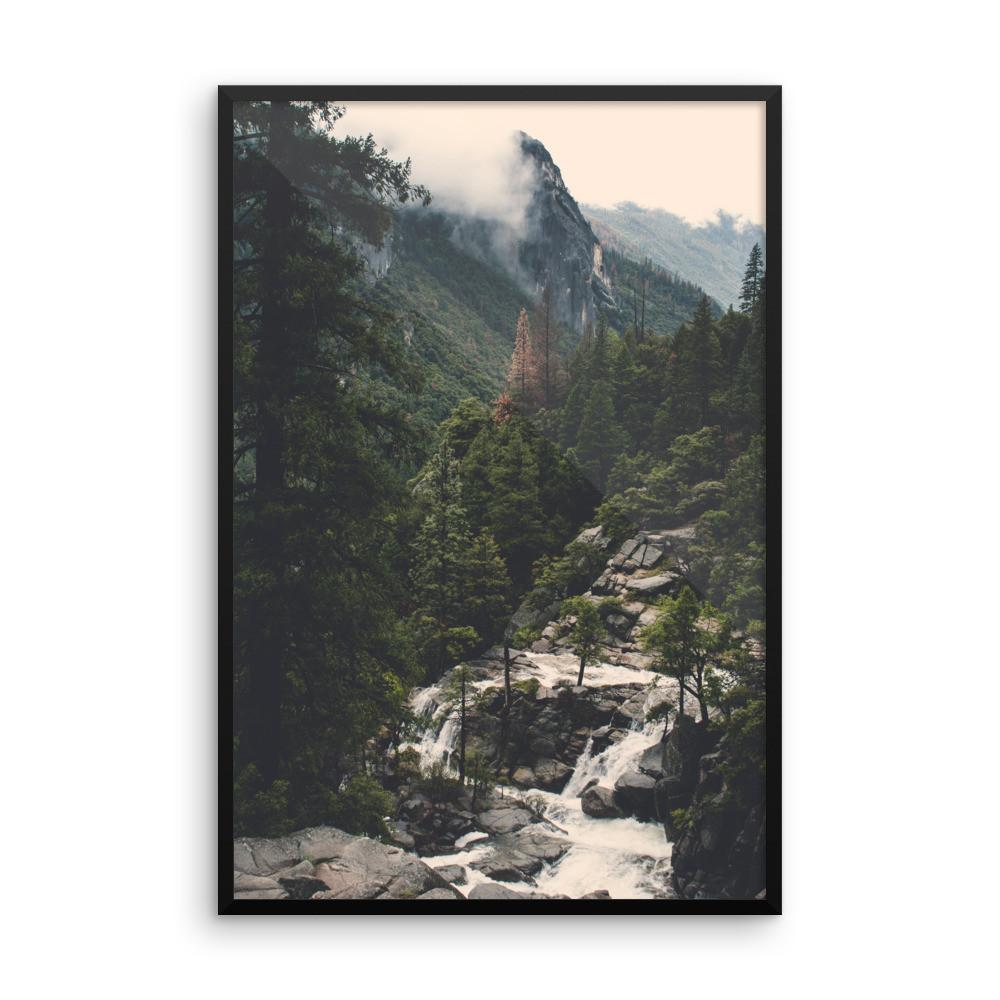 Yosemite View - Framed Photo Print 12×18 Lost Kat Photography