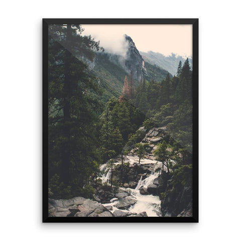 Yosemite View - Framed Photo Print 18×24 Lost Kat Photography
