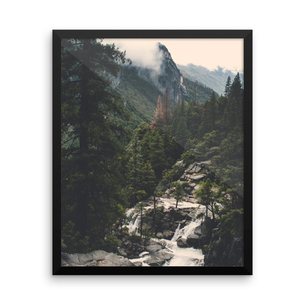 Yosemite View - Framed Photo Print 8×10 Lost Kat Photography