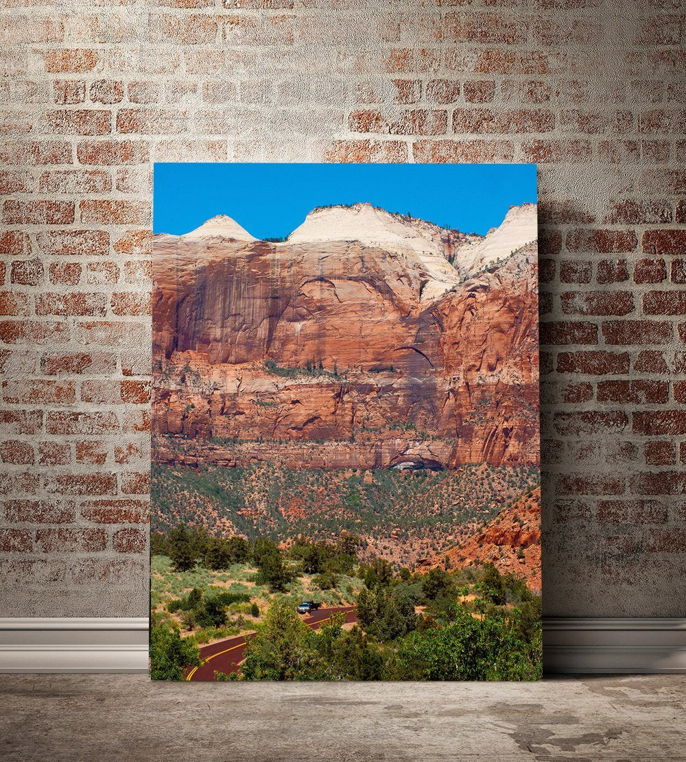Zion Canyon, Nature Print Lost Kat Photography