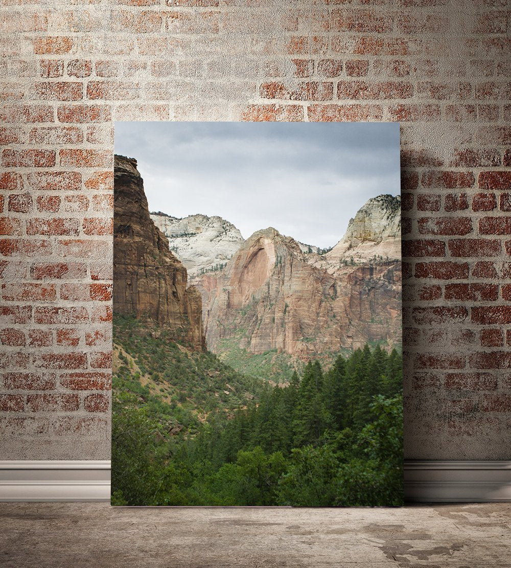 Collection Of 3 Prints Zion National Park Wall Art Set Lost Kat Photography