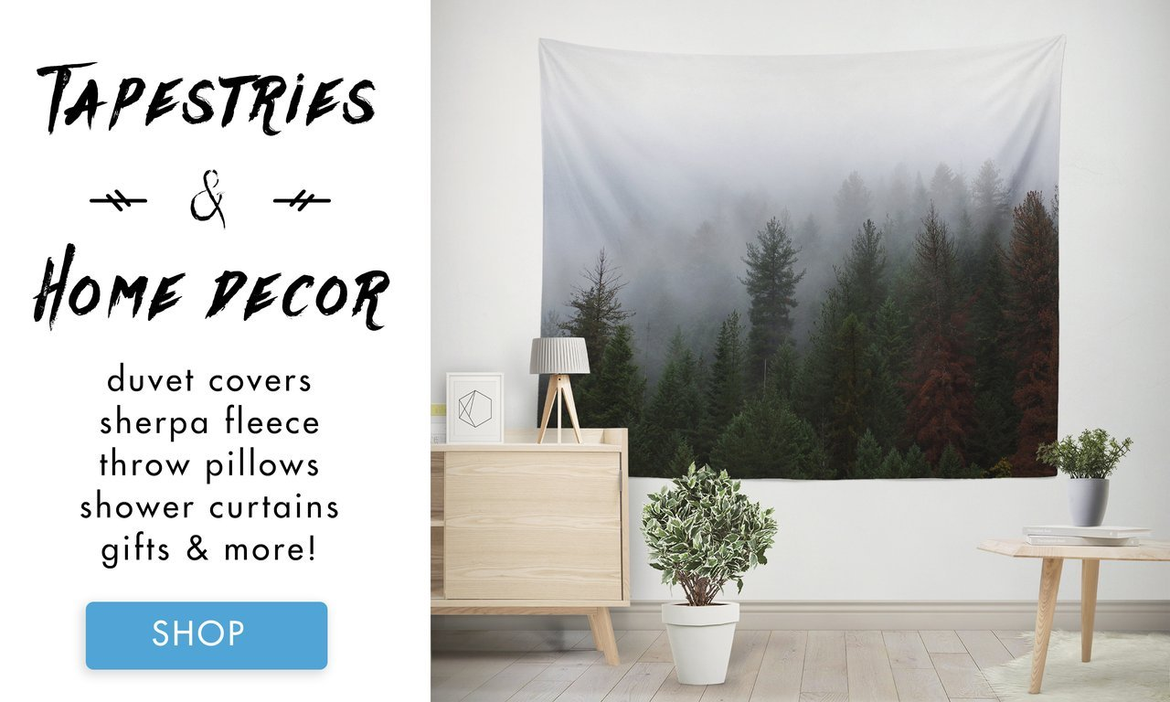 Wall Tapestries, Throw Pillows and More