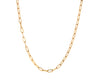 14kt Yellow Elongated Cable Chain Choker