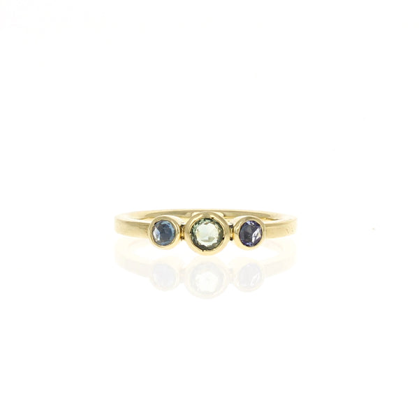 Alice Ring: Rosecut Sapphires