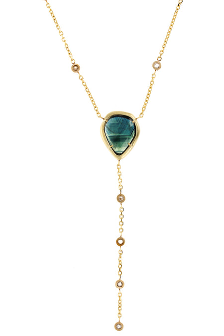 Dahlia Tourmaline Necklace