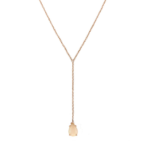 Lyla Lariat: Rose Quartz