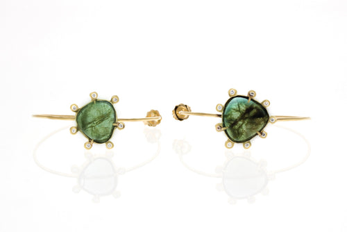 Milo hoops: Emeralds