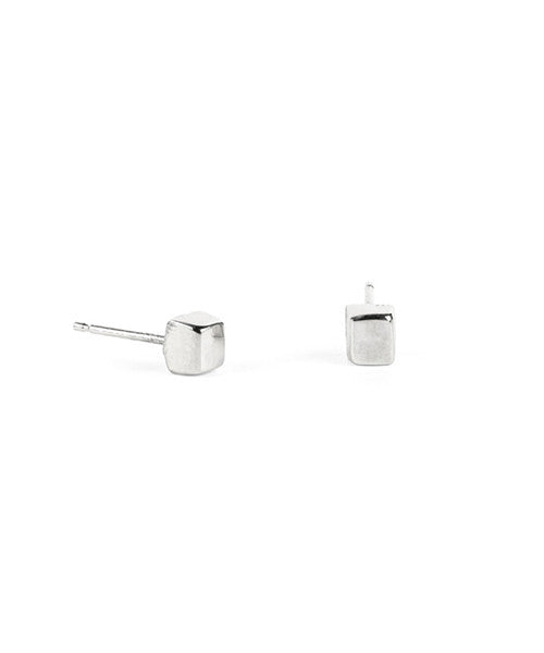 Cube I Stud Earrings