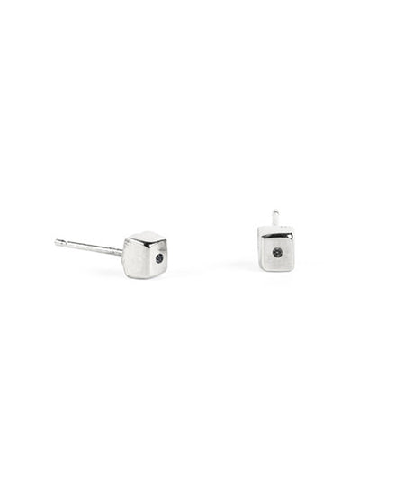 Cube I Stud Single Earring