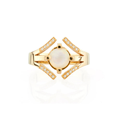 Alexa Ring I with Diamonds