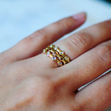 Hazel II Ring: Rosecut Diamonds