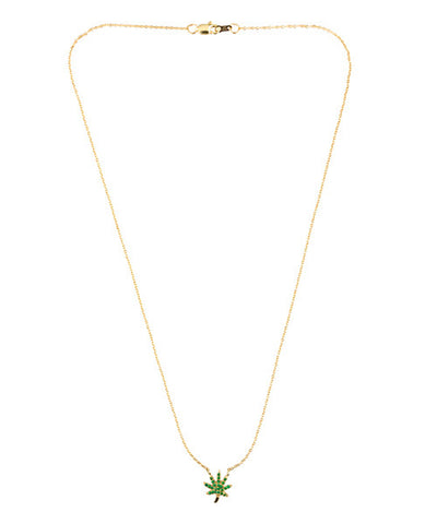 Mary Leaf III Necklace