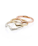 Rainbow I Stackable Ring