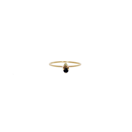 Raye Ring: BiColor Tourmaline