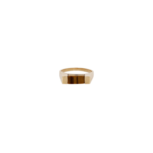 Vintage Tiger's Eye Ring Circa 1970s