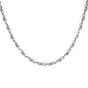 Platinum Swirl Necklace