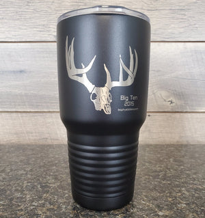 engraved hunting yeti mug 30 oz