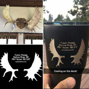 moose hunter yeti tumbler