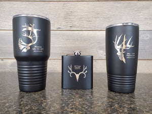 Personalized Hunting Flask