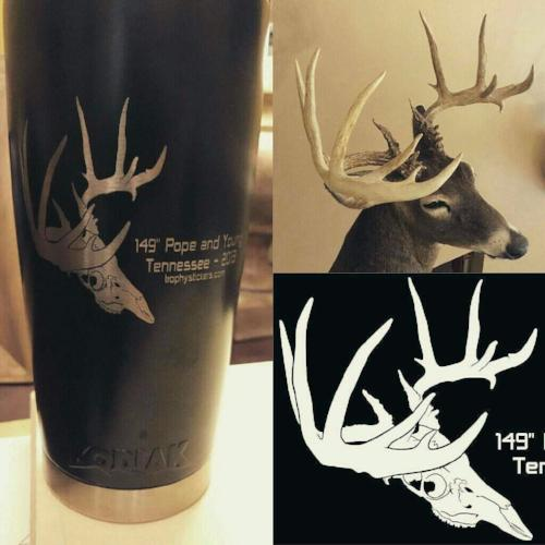 custom hunter coffee mug tumbler