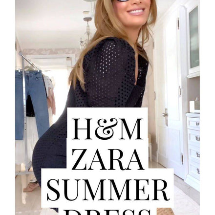 6 Summer Dresses You Have To Buy From Zara + H&M