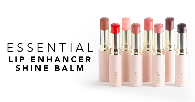 Essential Lip Enhancer Shine Balm - now available in 8 shades. Shop now!