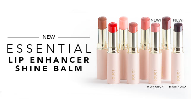 Shop new essential lip enhancer shine balm in 8 shades!