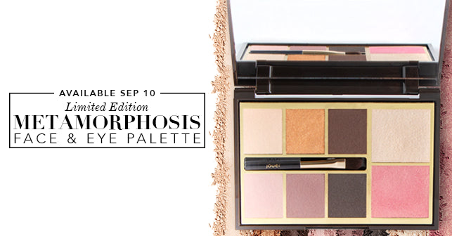 Limited edition Metamorphosis Face & Eye Palette available September 10!