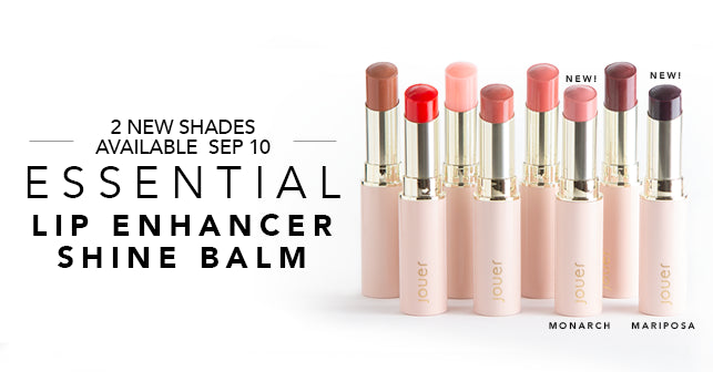 Shop new Lip Enhancer Shine Balm and sign-up for 2 new shades available September 10!
