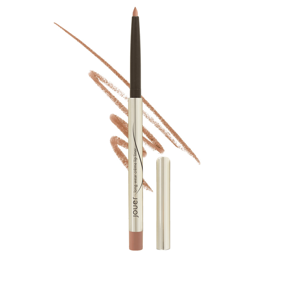 fawn (warm matte medium fawn) lip liner with cap off
