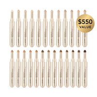 alt: concealer pen bundle in 25 shades from fair to deep. perfect for make-up artists