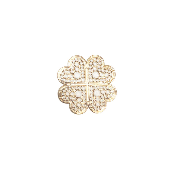 Get Charmed Four Leaf Clover Pin