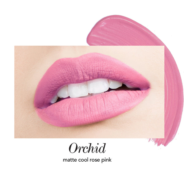 Orchid Long-Wear Lip Crème Liquid Lipstick