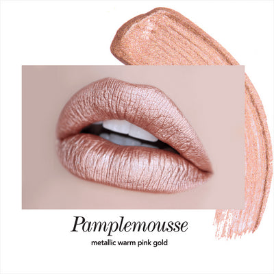Long-Wear Lip Crème Liquid Lipstick - Pamplemousse