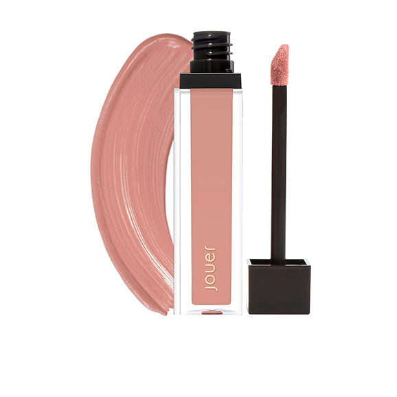 ballerine (matte warm pale pink nude) matte lip creme with wand applicator