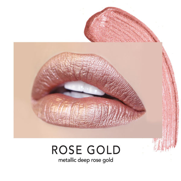 Long-Wear Lip Crème Liquid Lipstick Rose Gold