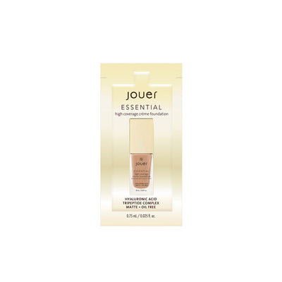 Essential High Coverage Crème Foundation Sample Packets - Tan