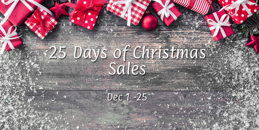 25 Days Of Christmas Sales