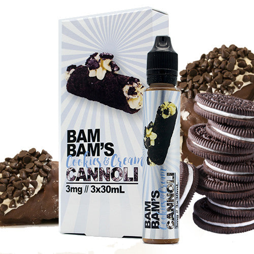 Cookies & Cream - Bam Bam's Cannoli