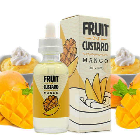 Mango - Fruit -N- Custard E Liquid