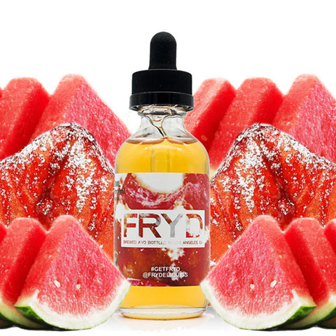 Fried Watermelon E Juice - FRYD Liquids